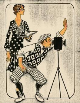 Costume_design_drawing_script_girl_and_director_Las_Vegas__June_5_1980