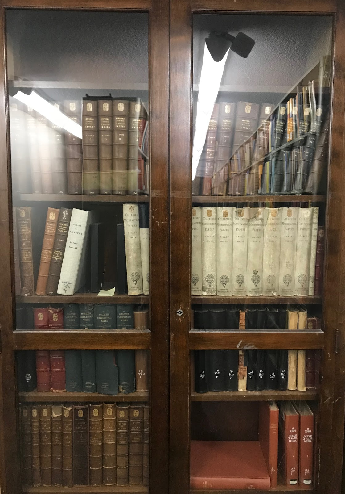 Picture of a bookcase filled with books