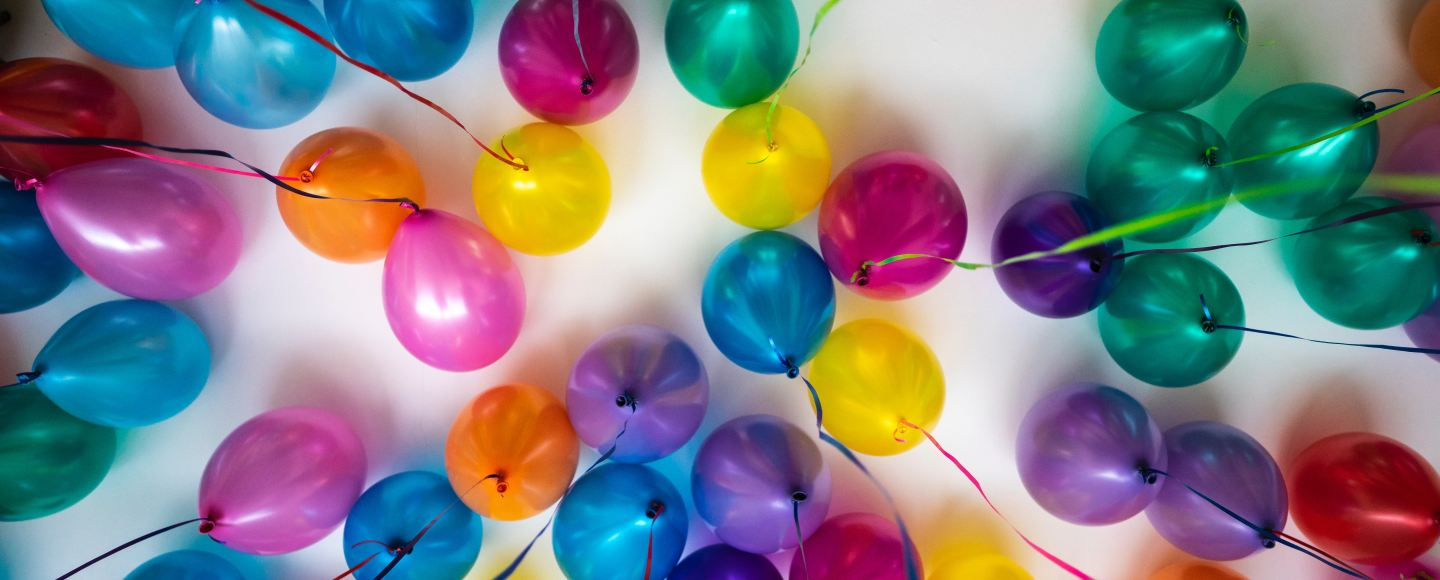 Multicolored ballons